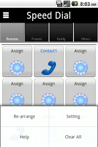 Speed dial screenshot 3
