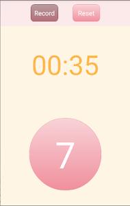 胎動カウント screenshot 2