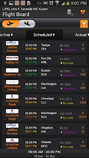 Airline Flight Status Tracking screenshot 01