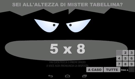 Mister Tabellina screenshot 6
