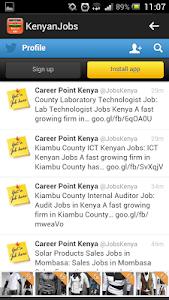 JOBS IN KENYA screenshot 2