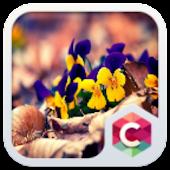 Crystal Flower Clauncher Theme