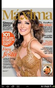 Revista Máxima screenshot 2