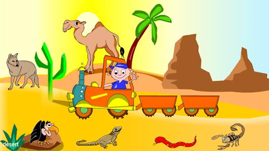 Kids Animal Game - Zoo Train screenshot 1