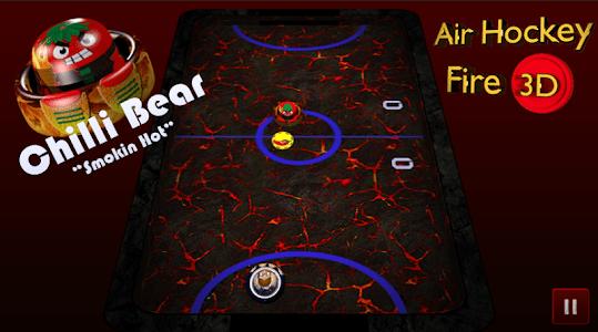 Air Hockey Fire 3D screenshot 12