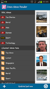 Jimex News Reader screenshot 1