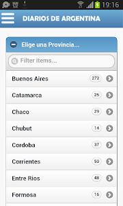 Diarios de Argentina screenshot 1