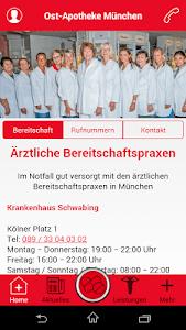 ApoApp - Ost-Apotheke München screenshot 1