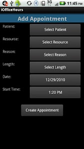 iOfficeHours for Medisoft screenshot 1