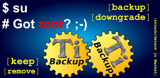 Titanium Backup ★ root APK screenshots