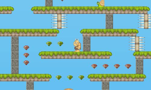 Kenozoik: Platform Game screenshot 1