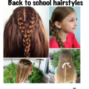hairstyles school day hair