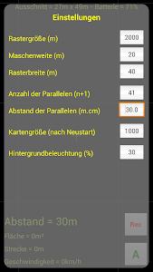 GPS Parallelfahrhilfe screenshot 5