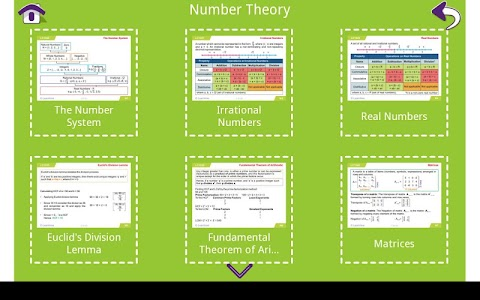 Grade 10 Math Learning Cards screenshot 1