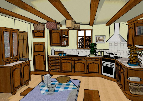 Goranson blog cartoon kitchen