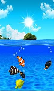 Aqua World HD Free wallpaper screenshot 6