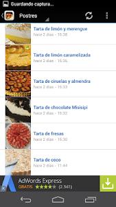Recetas de cocina screenshot 3