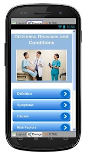 Dizziness Disease & Symptoms screenshot 0