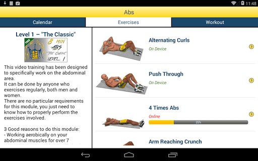 8 Minutes Abs Workout screenshot 23