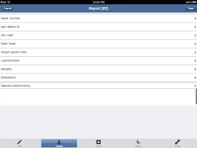 EMS ePCR screenshot 5