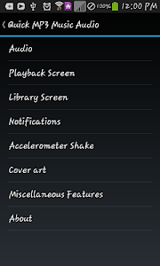 Quick MP3 Music Audio screenshot 6