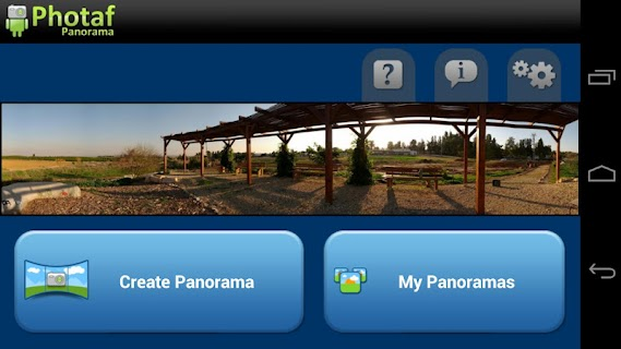 Photaf Panorama (Free) screenshot 00