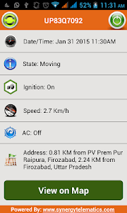 Track My Vehicle -VTS screenshot 1