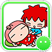 Stickey Red Hair Boy and Girl APK