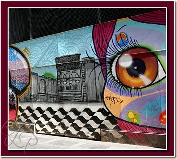 grafitti eye