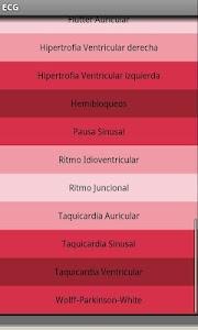 Electrocardiograma ECG Tipos screenshot 2
