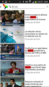 teleSUR Multimedia screenshot 2