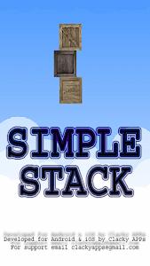 Simple Stack screenshot 0