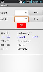 BMI Calculator screenshot 0