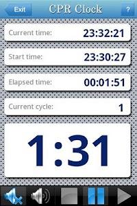 CPR Clock screenshot 0