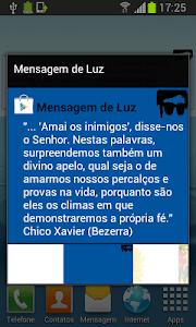 Mensagem de Luz screenshot 3