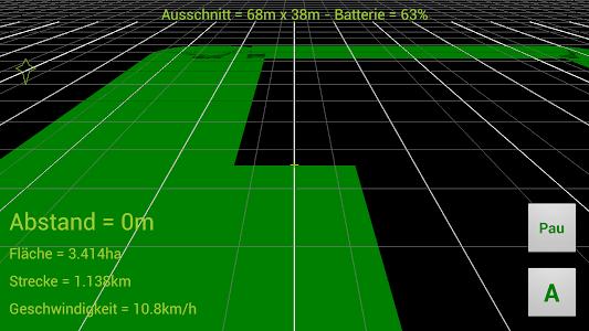 GPS Parallelfahrhilfe screenshot 2