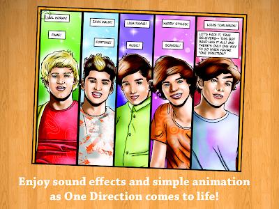 Fame: One Direction Comic Book screenshot 1