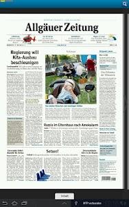 Allgäuer Zeitung screenshot 3