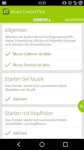 Music Control Plus screenshot 0