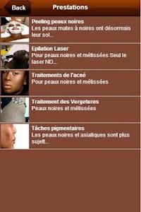Dermatologue Peaux noires screenshot 1