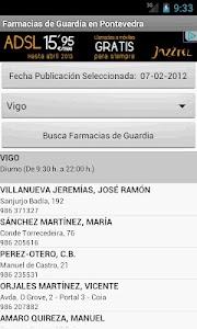 Farmacias Guardia - Pontevedra screenshot 0
