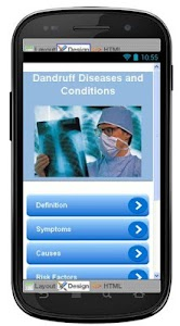 Dandruff Disease & Symptoms screenshot 0