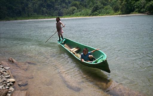 Rio Changuinola, Nance de Risco, Niños Ngobes