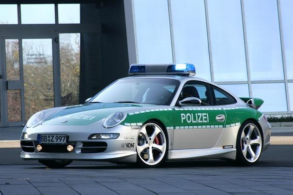 police porsche