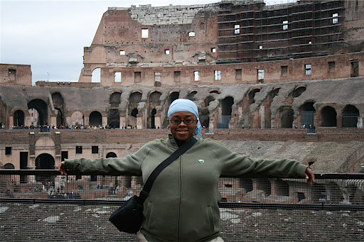 Me at the Colloseum