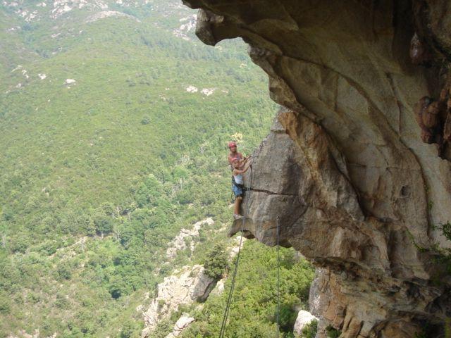 V steni adrenalinskega parka v Chisi