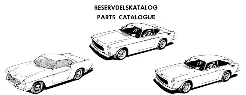 VOLVO 1800 P1800 1800S P1800S 1800ES Parts & Service