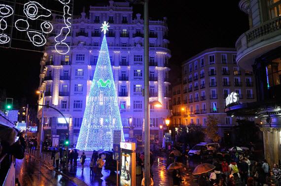 Madrid enciende las luces de la Navidad 20142015  es por