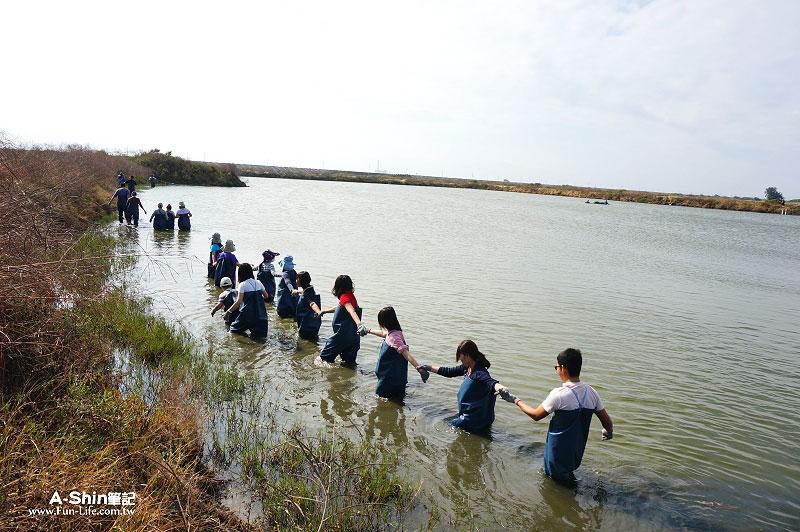 台江國家公園-漁塭體驗4