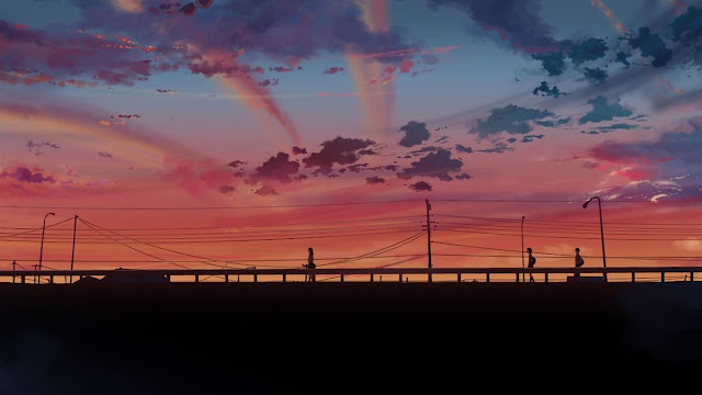 The Girl Who Leapt Through Time Wallpaper 1920x1080 Five Centimeters Per Second Cherry Blossom The Infinite